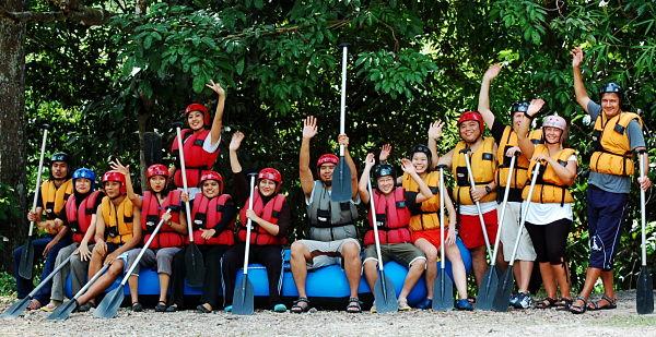 kuala lumpur water rafting 1