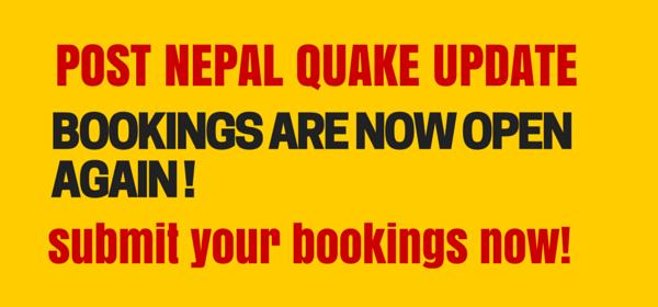 nepal booking