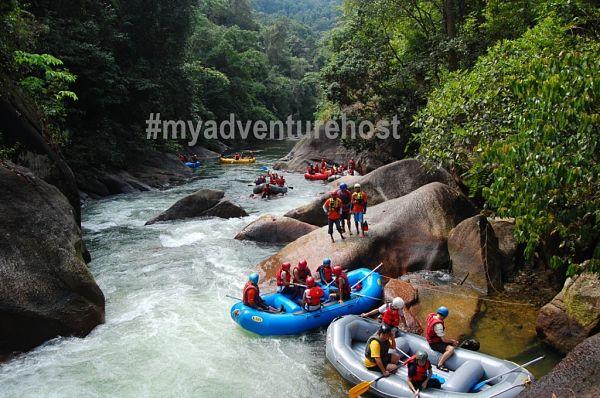 kuala kubu baru kkb white water rafting