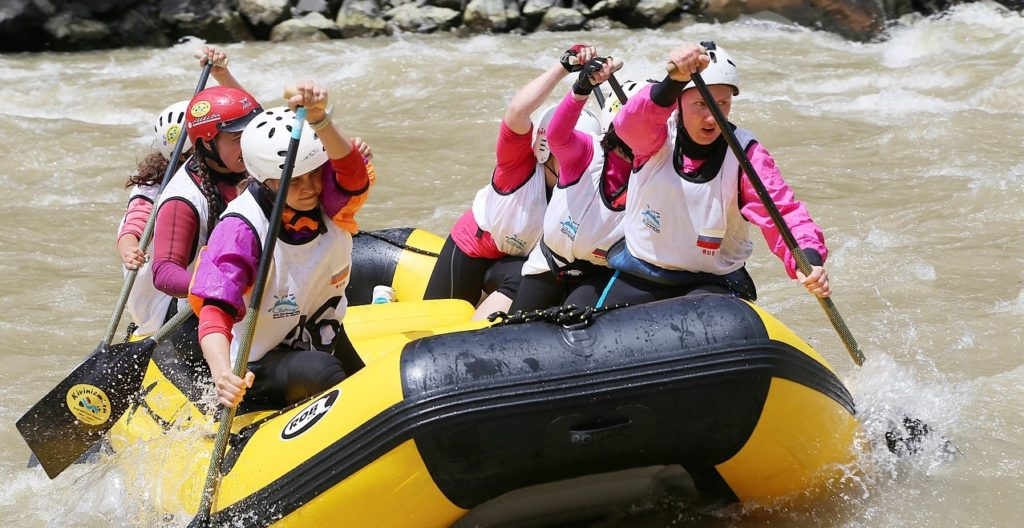 white water rafting tips for women