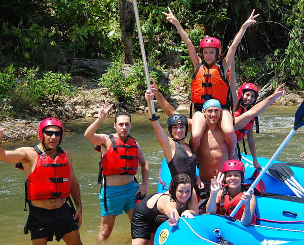 Slim River White Water Rafting in Malaysia