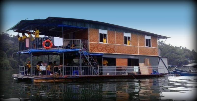 pakej house boat royal belum