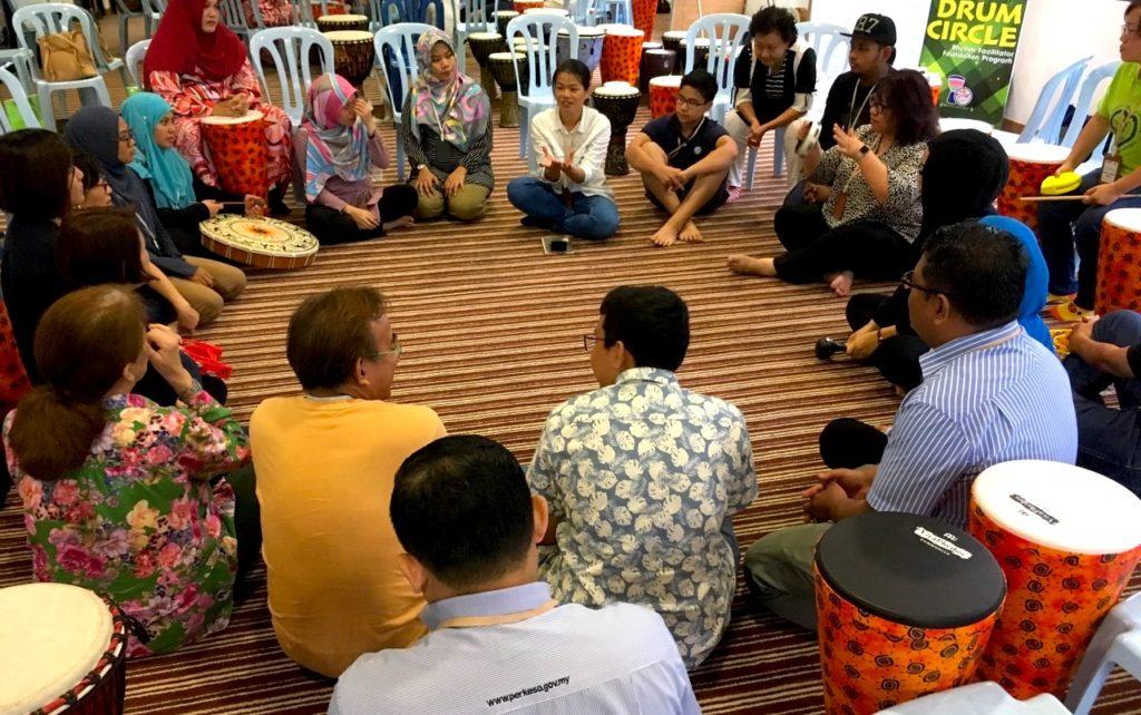 Drum Circle Team Building Kuala Lumpur